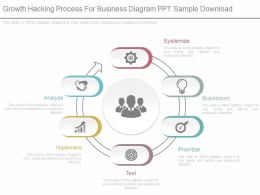 Innovative Growth Hacking Process For Business Diagram Ppt Sample Download