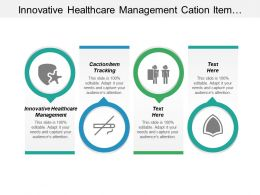 Innovative Healthcare Management Cation Item Tracking Planning Strategy Cpb