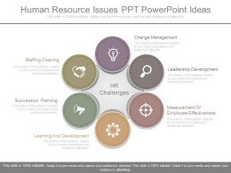 Innovative Human Resource Issues Ppt Powerpoint Ideas