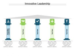 Innovative Leadership Ppt Powerpoint Presentation Samples Cpb