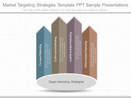 Innovative Market Targeting Strategies Template Ppt Sample Presentations