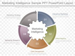 Innovative Marketing Intelligence Sample Ppt Powerpoint Layout
