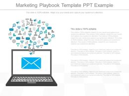 Innovative Marketing Playbook Template Ppt Example