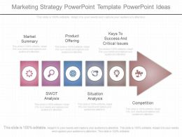 Innovative Marketing Strategy Powerpoint Template Powerpoint Ideas