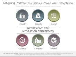 Innovative Mitigating Portfolio Risk Sample Powerpoint Presentation