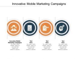 Innovative Mobile Marketing Campaigns Ppt Powerpoint Presentation Slides Templates Cpb