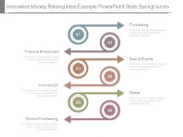 Innovative Money Raising Idea Example Powerpoint Slide Backgrounds
