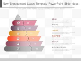 Innovative New Engagement Leads Template Powerpoint Slide Ideas