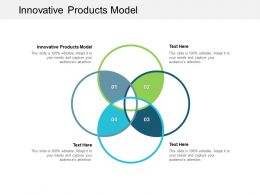 Innovative Products Model Ppt Powerpoint Presentation File Visual Aids Cpb