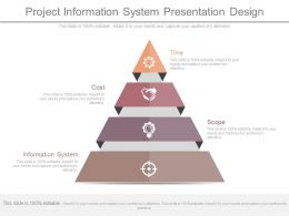 Innovative Project Information System Presentation Design