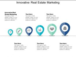 Innovative Real Estate Marketing Ppt Powerpoint Presentation Infographics Portfolio Cpb