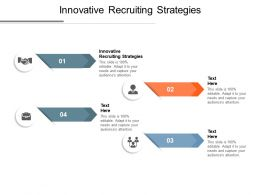 Innovative Recruiting Strategies Ppt Powerpoint Presentation Samples Cpb