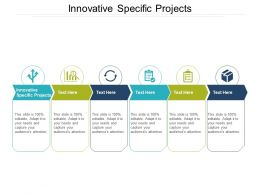 Innovative Specific Projects Ppt Powerpoint Presentation Show File Formats Cpb