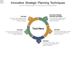 Innovative Strategic Planning Techniques Ppt Powerpoint Presentation Layouts Slide Cpb