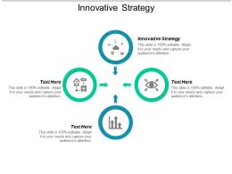 Innovative Strategy Ppt Powerpoint Presentation File Grid Cpb