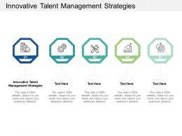 Innovative Talent Management Strategies Ppt Powerpoint Presentation Outline Gridlines Cpb