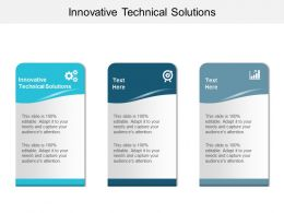 Innovative Technical Solutions Ppt Powerpoint Presentation File Slideshow Cpb
