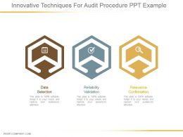 Innovative Techniques For Audit Procedure Ppt Example