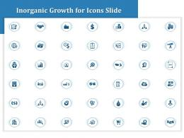 Inorganic Growth For Icons Slide Ppt Powerpoint Presentation Slides Elements