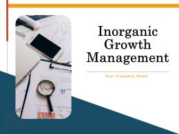 Inorganic Growth Management Powerpoint Presentation Slides
