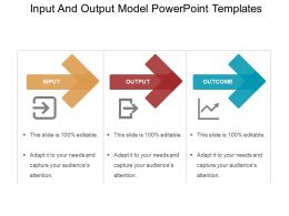 Input And Output Model Powerpoint Templates