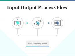 Input Output Process Flow Business Services Product Horizontal Management Transformation