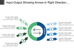 Input Output Showing Arrows In Right Direction With Boxes