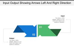 Input Output Showing Arrows Left And Right Direction
