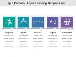 Input Process Output Covering Suppliers And Customers