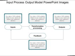 Input Process Output Model Powerpoint Images