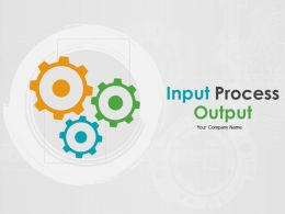 Input Process Output Powerpoint Presentation Slides