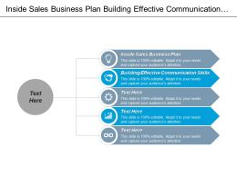 Inside Sales Business Plan Building Effective Communication Skills Cpb