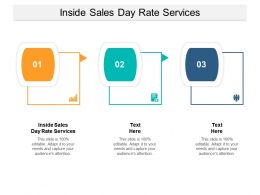 Inside Sales Day Rate Services Ppt Powerpoint Presentation Layouts Slideshow Cpb