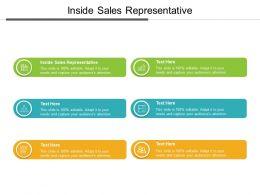 Inside Sales Representative Ppt Powerpoint Presentation Summary Slideshow Cpb