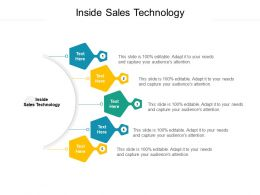 Inside Sales Technology Ppt Powerpoint Presentation Infographics Example Cpb