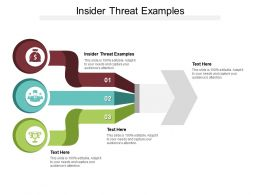 Insider Threat Examples Ppt Powerpoint Presentation Inspiration Samples Cpb