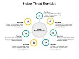 Insider Threat Examples Ppt Powerpoint Presentation Pictures Format Cpb