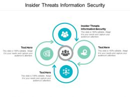 Insider Threats Information Security Ppt Powerpoint Presentation Summary Background Cpb