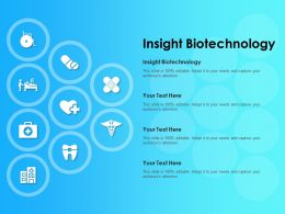 Insight Biotechnology Ppt Powerpoint Presentation Outline Grid