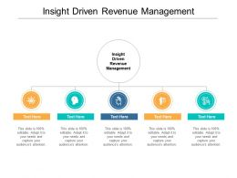 Insight Driven Revenue Management Ppt Powerpoint Presentation Infographics Layouts Cpb