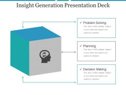 Insight Generation Presentation Deck