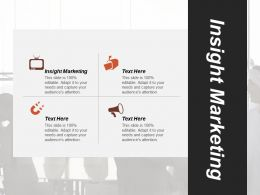 Insight Marketing Ppt Powerpoint Presentation Infographic Template Designs Download Cpb