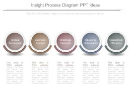 Insight Process Diagram Ppt Ideas