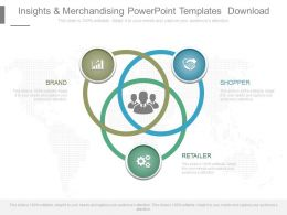Insights And Merchandising Powerpoint Templates Download