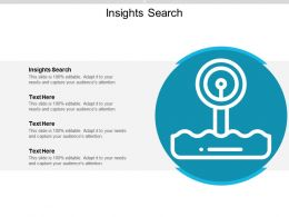 Insights Search Ppt Powerpoint Presentation File Master Slide Cpb