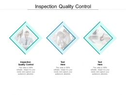 Inspection Quality Control Ppt Powerpoint Presentation Portfolio Graphics Cpb