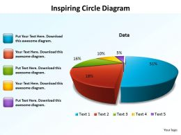 inspiring circle diagram data driven pie chart powerpoint diagram templates graphics 712
