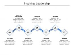 Inspiring Leadership Ppt Powerpoint Presentation Infographic Template Good Cpb