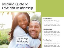 Inspiring Quote On Love And Relationship