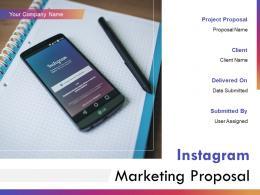 Instagram Marketing Proposal Powerpoint Presentation Slides